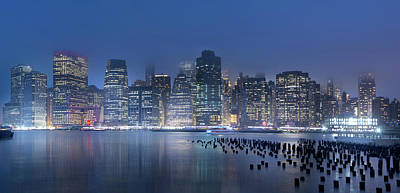 Photograph - Manhattan Lullaby by Mark Andrew Thomas