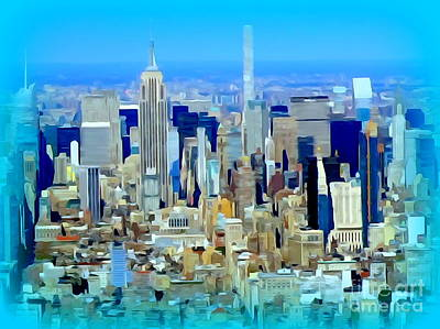 Photograph - One World Observatory View #2 by Ed Weidman