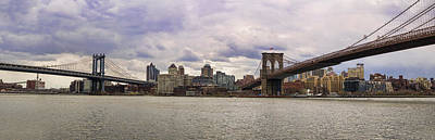 Photograph - Manhattan Meets Brooklyn by Heather Applegate