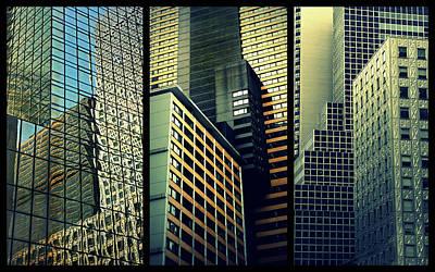 Photograph - Manhattan Melange Triptych by Jessica Jenney