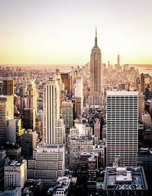 Empire State Building Photograph - Manhattan by Michael Weber