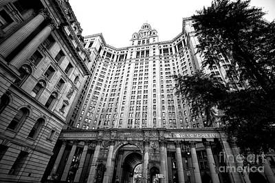 Photograph - Manhattan Municipal Building by John Rizzuto