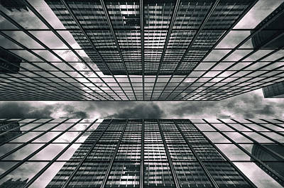 Photograph - Manhattan Perspectives by Jessica Jenney