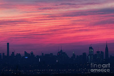 Photograph - Manhattan Pre-dawn by Zawhaus Photography