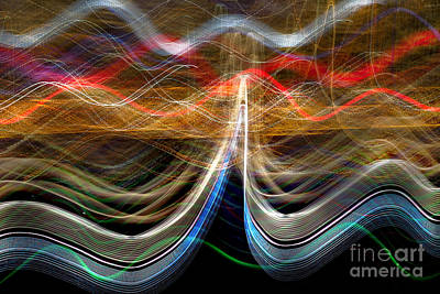 Abstract Skyline Royalty-Free and Rights-Managed Images - Manhattan Pulse by Az Jackson
