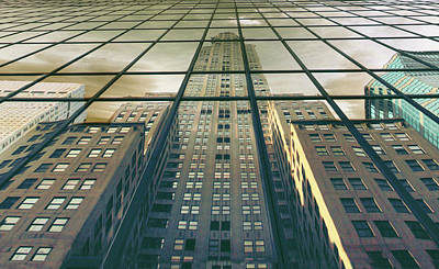 Photograph - Manhattan Reflected by Jessica Jenney