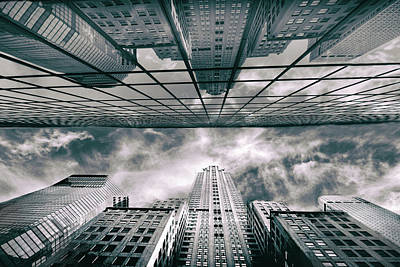 Photograph - Manhattan Reflections by Jessica Jenney