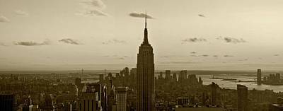Photograph - Manhattan Sky View by Terry Cork