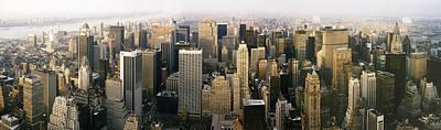New York City Skyline Photograph - Manhattan Skyline - New York City by Daniel Hagerman
