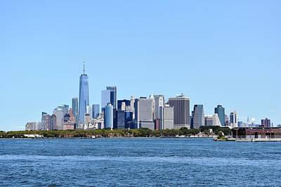 Manhattan Skyline 1 Art Print
