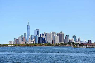 Photograph - Manhattan Skyline 1 by Nina Kindred