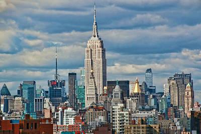 Photograph - Manhattan Skyline by Allen Beatty