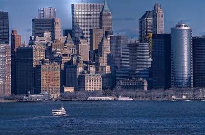 Photograph - Manhattan Skyline by Dyle   Warren