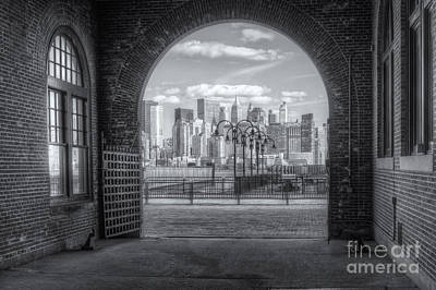 Photograph - Manhattan Skyline From Crrnj Terminal IIi by Clarence Holmes