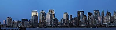 Manhattan Skyline Art Print by John Haldane