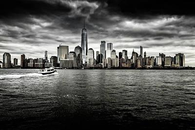 Photograph - Manhattan Skyline by M G Whittingham