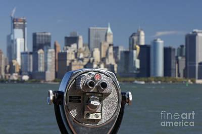 Photograph - Manhattan Skyline New York  by Juergen Held