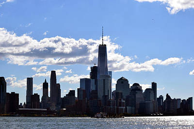 Photograph - Manhattan Skyline No. 17-1 by Sandy Taylor