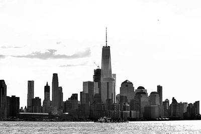 Photograph - Manhattan Skyline No. 17-2 by Sandy Taylor