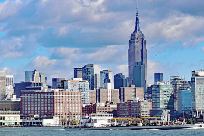 Photograph - Manhattan Skyline No. 7-1 by Sandy Taylor