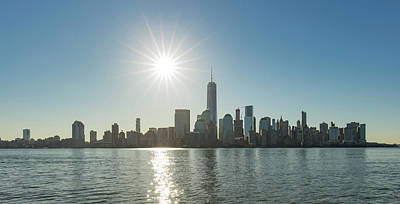 Photograph - Manhattan Skyline by Prashant Meswani