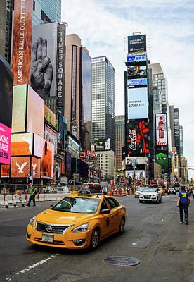 Photograph - Manhattan Street Scene by Dutourdumonde Photography