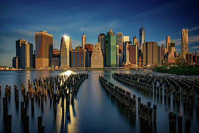 Freedom Tower Photograph - Manhattan Twinkle by Rick Berk