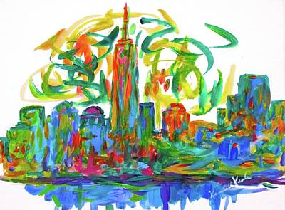 Painting - Manhattan Twirl by Kendall Kessler