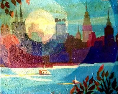 Manhattan Veiw Art Print