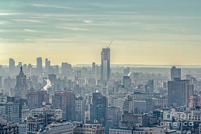 Photograph - Manhattan View by Roman Gomez