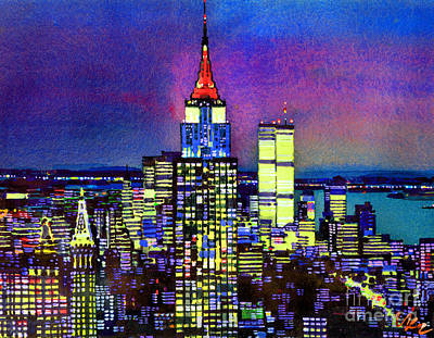 Painting - Manhattan by Vladimir Kozma