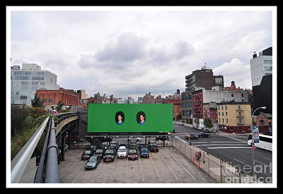 Photograph - Manhattan West Side September 2012 by Mark Gilman