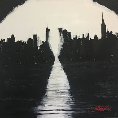 Painting - Manhattanhenge 1 by Jack Diamond