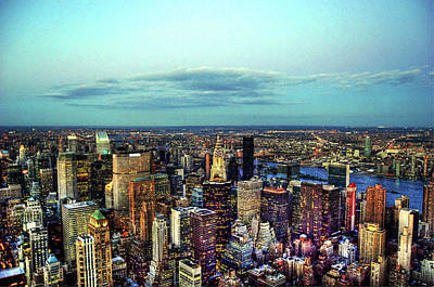 Manhattan's Upper East Side Art Print by Randy Aveille
