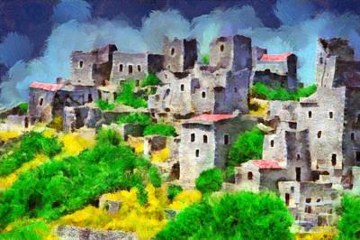 Mani Painting - Mani by George Rossidis