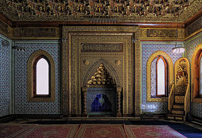 Photograph - Manial Palace Mosque by Nigel Fletcher-Jones