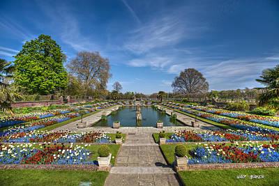 Photograph - Manicured Gardens by Walt  Baker