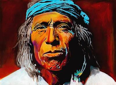 Reservation Painting - Manifest Destiny by Vel Verrept