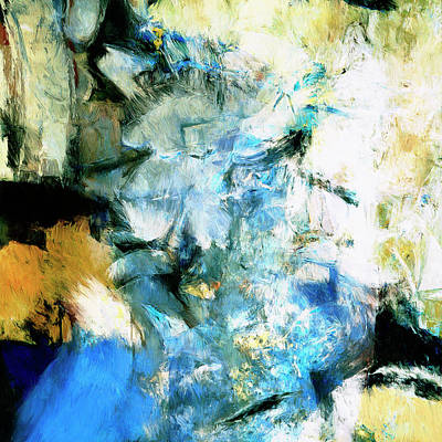 Art Print featuring the painting Manifestation by Dominic Piperata