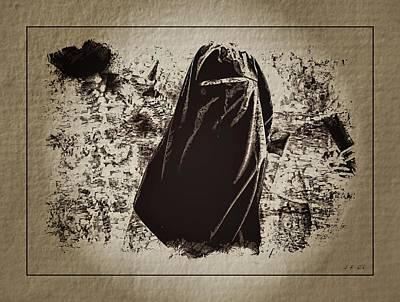 Beautiful Hijabs Photograph - Manifestation Pro-gaza by Jean Francois Gil