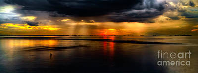 Photograph - Manila Bay Sunset by Adrian Evans
