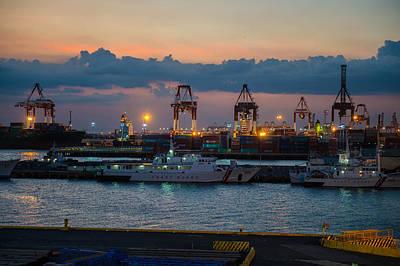Photograph - Manila Port by Judith Barath