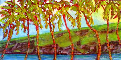 Hawaii Painting - Manini Rockettes by Richard Rochkovsky