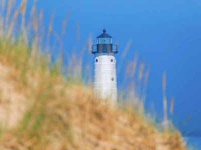 Photograph - Manistee North Pierhead Lighthouse by Dan Sproul