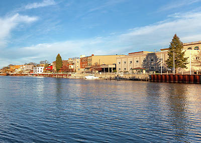 Photograph - Manistee River Front by Fran Riley