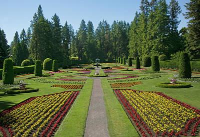 Photograph - Manito Gardens, Spokane, Wa by Elvira Butler