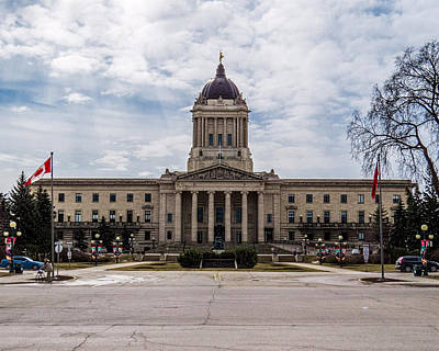 Photograph - Manitoba Legislative Building by Tom Gort