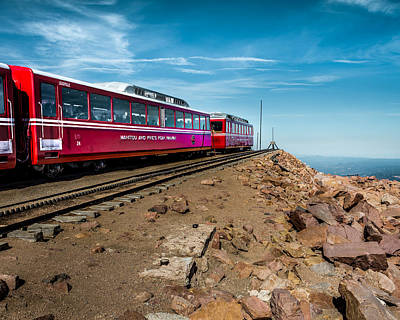 Photograph - Manitou And Pike's Peak Railway by Ron Pate