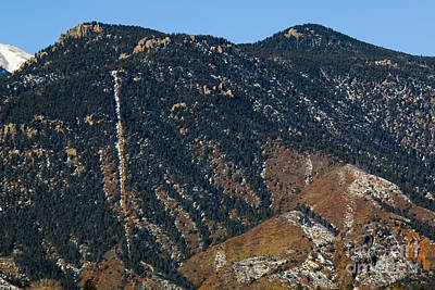 Photograph - Manitou Incline Photographed From Red Rock Canyon by Steve Krull