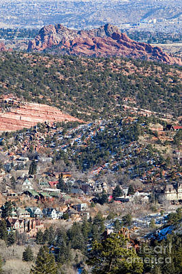Photograph - Manitou Springs And Garden Of The Gods by Steve Krull